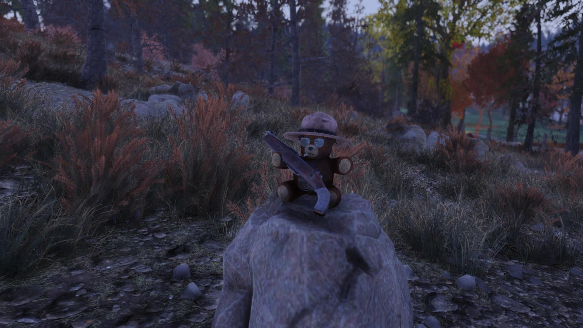 Some Fallout76 easter egg teddy bears – nerdhut